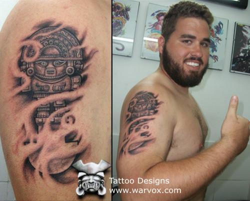 Tumi Tattoo Design Aztec Tattoos Aztec Mayan Inca Tattoo